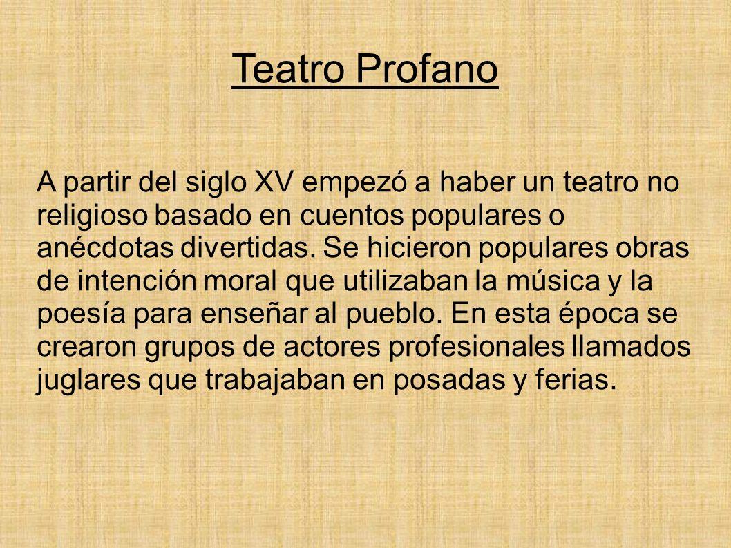 Teatro Profano