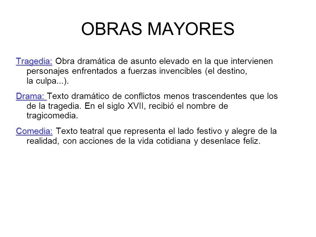OBRAS MAYORES