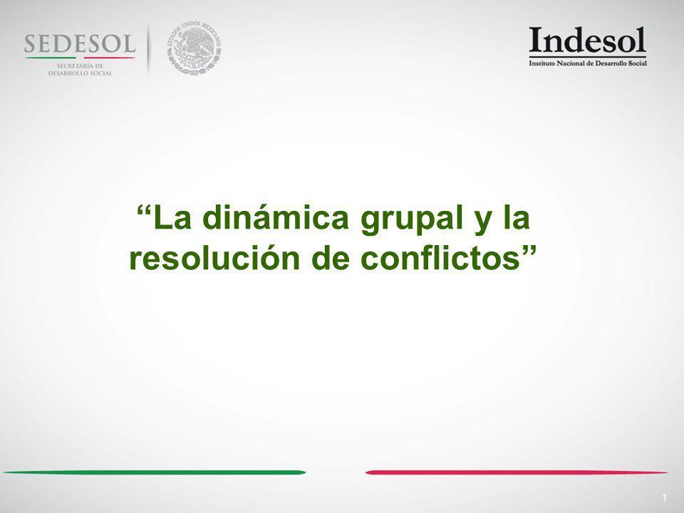 La dinámica grupal y la resolución de conflictos