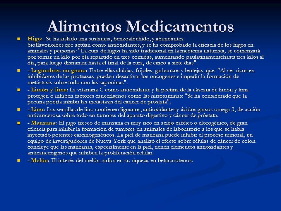 Alimentos Medicamentos