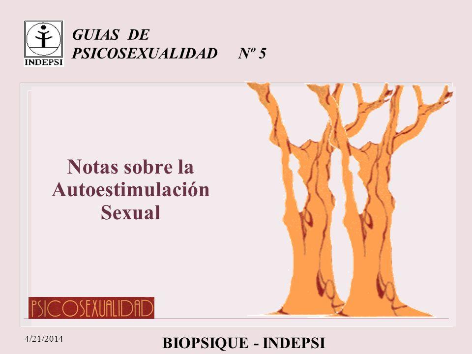 GUIAS DE PSICOSEXUALIDAD Nº 5