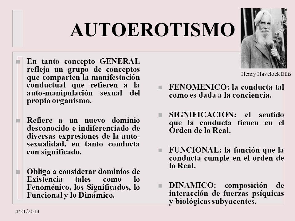 AUTOEROTISMO