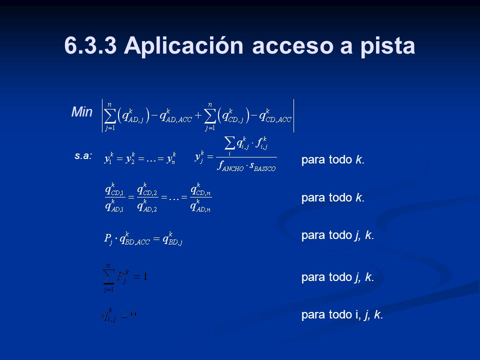 6.3.3 Aplicación acceso a pista