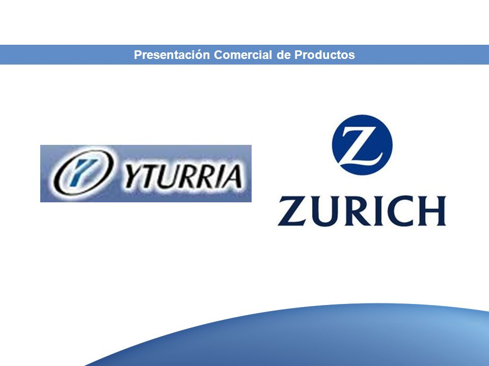 Presentación Comercial de Productos