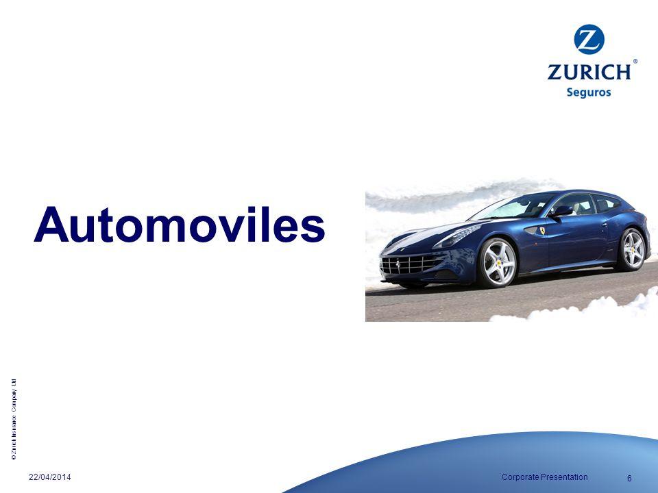 Automoviles 29/03/2017 Corporate Presentation