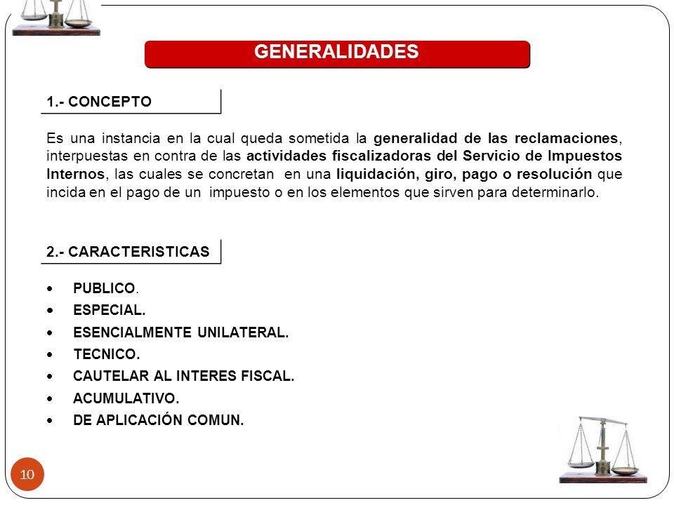 GENERALIDADES 1.- CONCEPTO