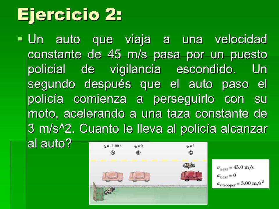 Ejercicio 2: