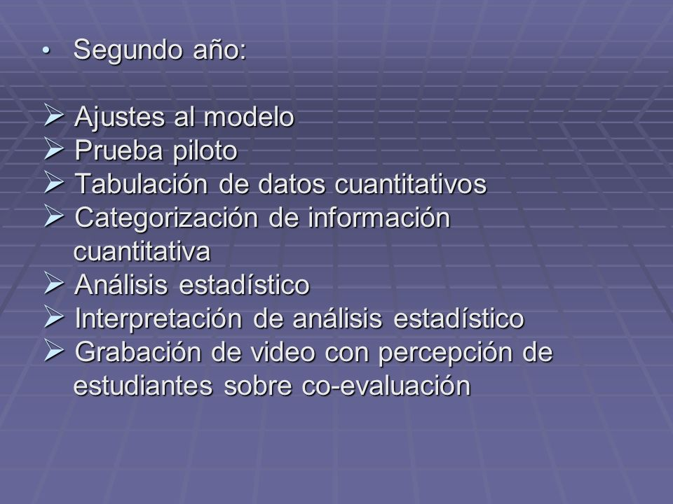 Tabulación de datos cuantitativos Categorización de información