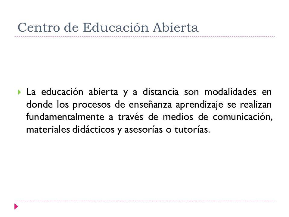 Centro de Educación Abierta
