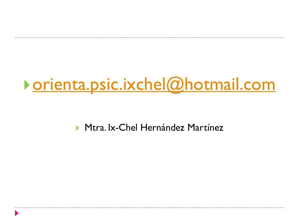 Mtra. Ix-Chel Hernández Martínez