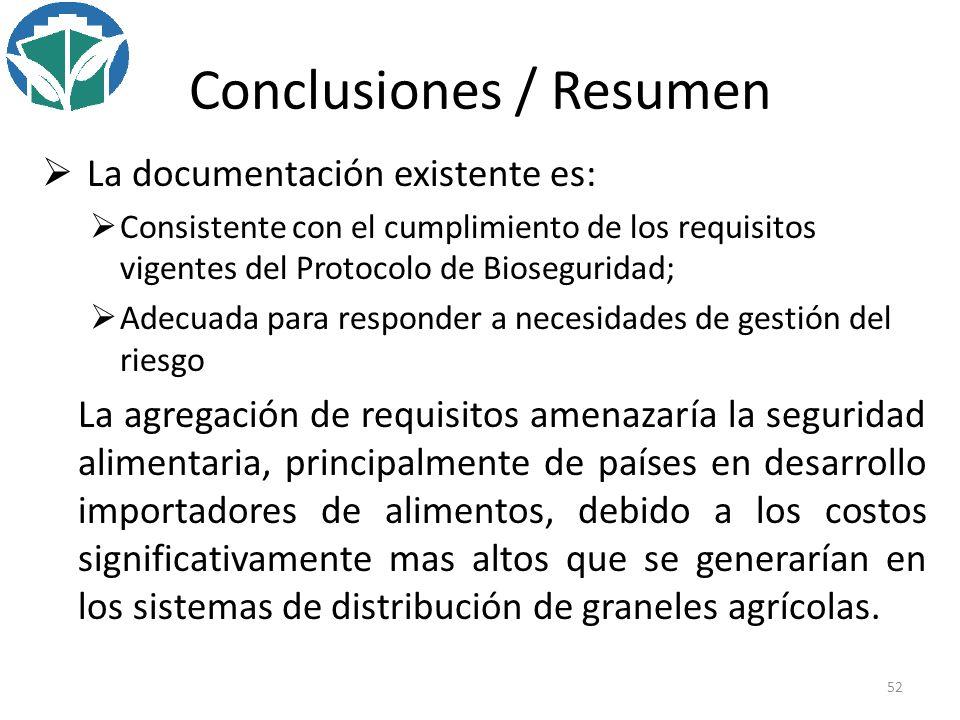 Conclusiones / Resumen