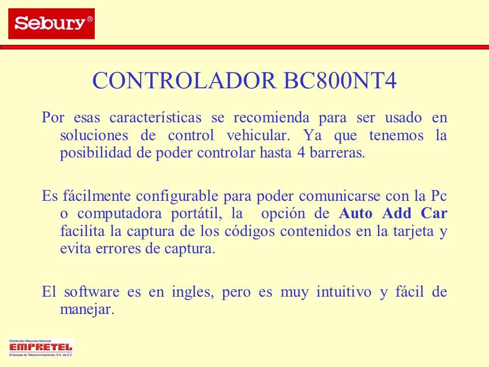 CONTROLADOR BC800NT4