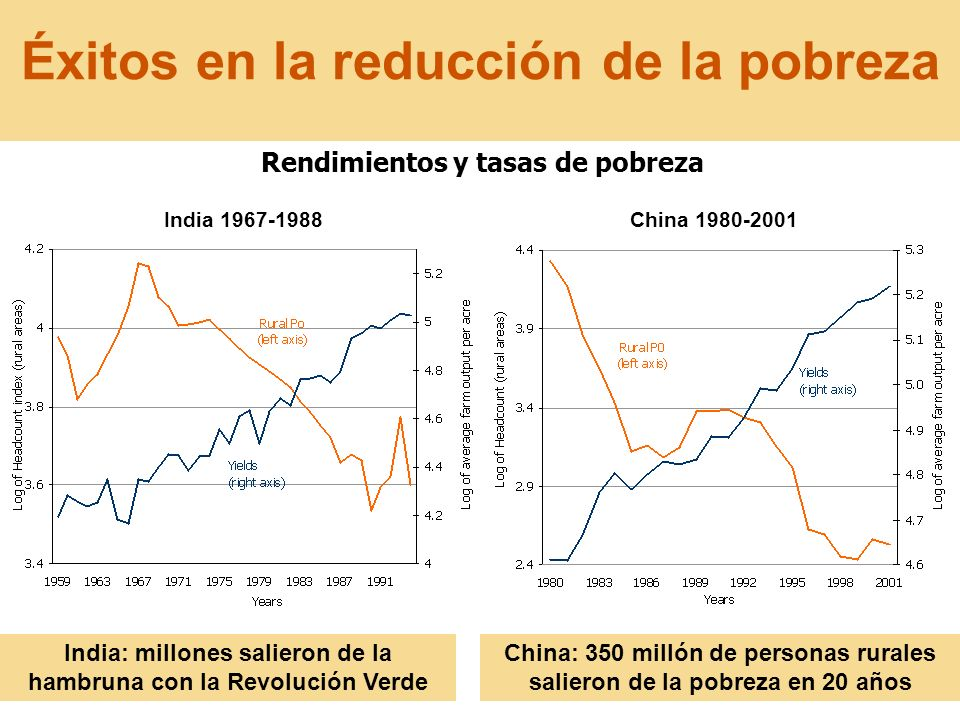 Éxitos en la reducción de la pobreza