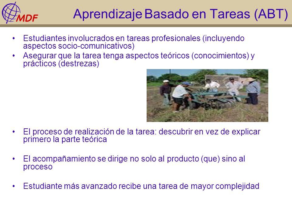 Aprendizaje Basado en Tareas (ABT)