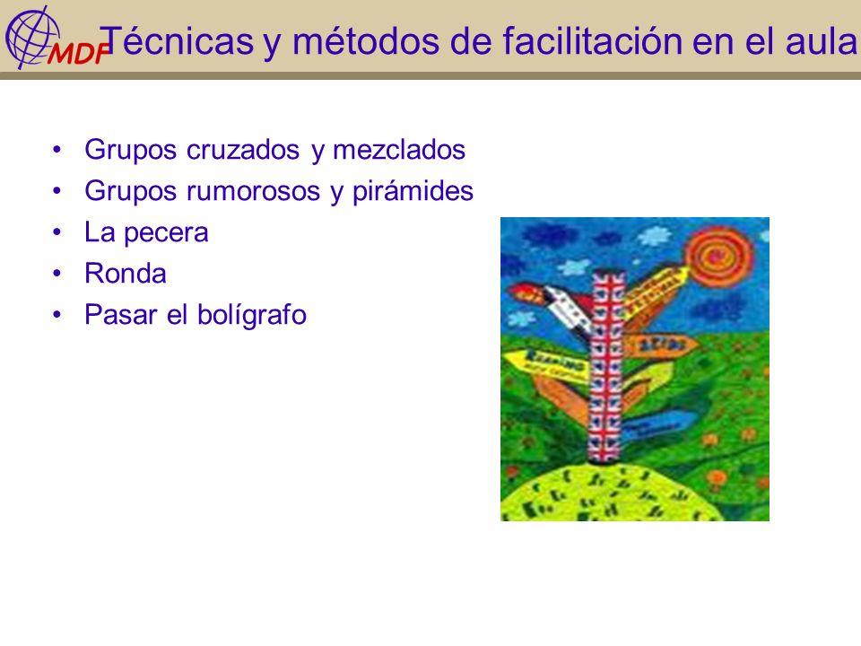 Técnicas y métodos de facilitación en el aula