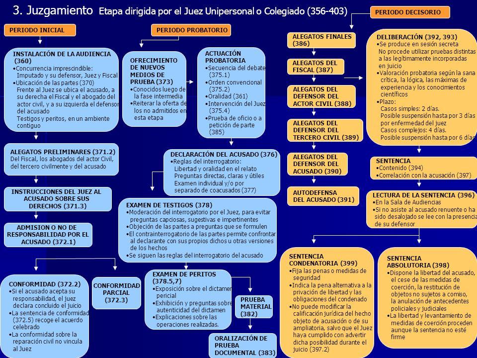 INSTRUCCIONES DEL JUEZ AL RESPONSABILIDAD POR EL