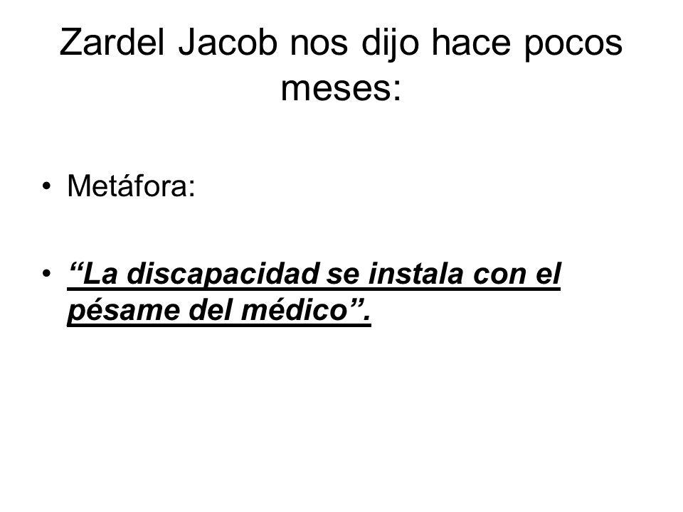 Zardel Jacob nos dijo hace pocos meses: