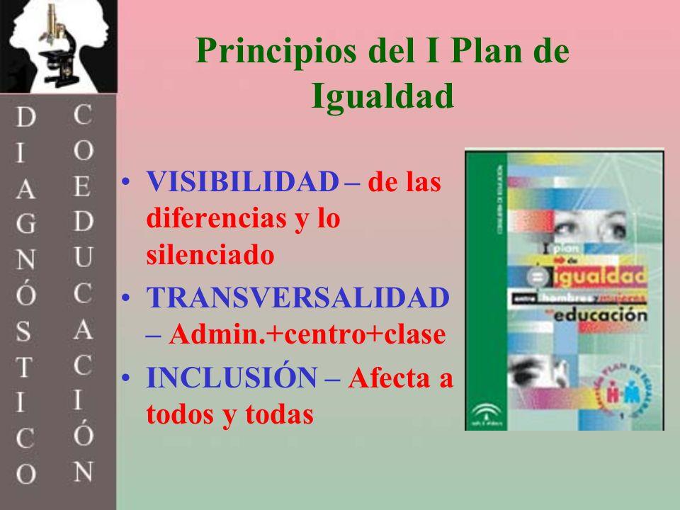 Principios del I Plan de Igualdad