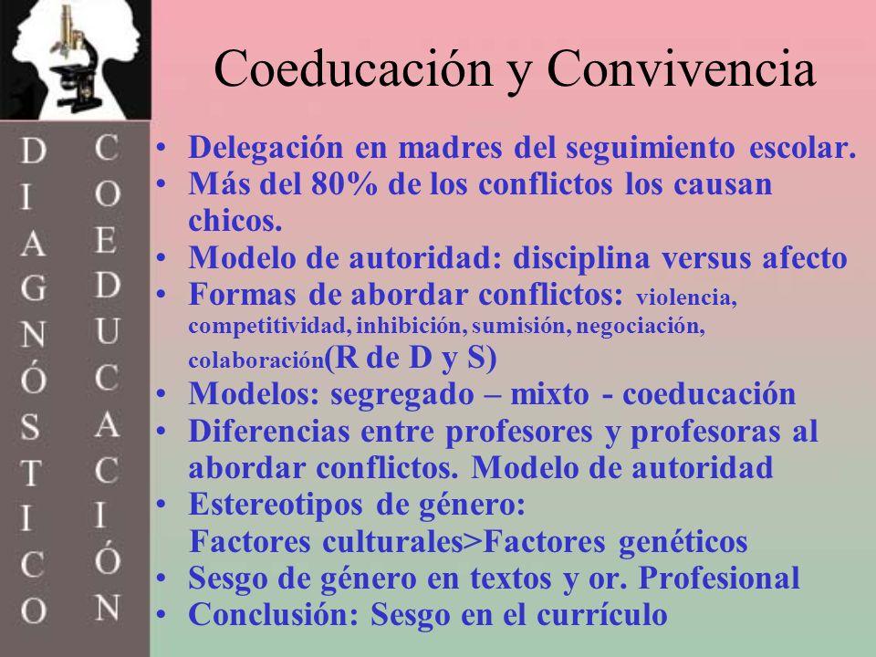 Coeducación y Convivencia