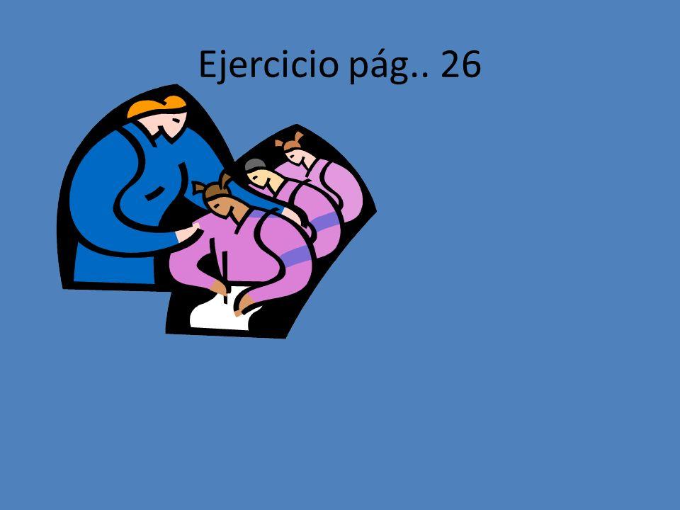 Ejercicio pág.. 26