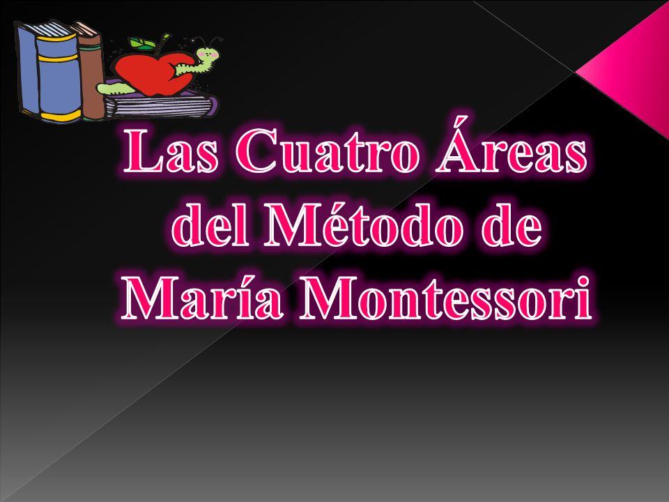 Las Cuatro Áreas del Método de María Montessori