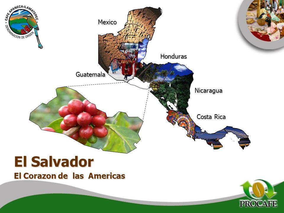 El Salvador El Corazon de las Americas Mexico Honduras Guatemala