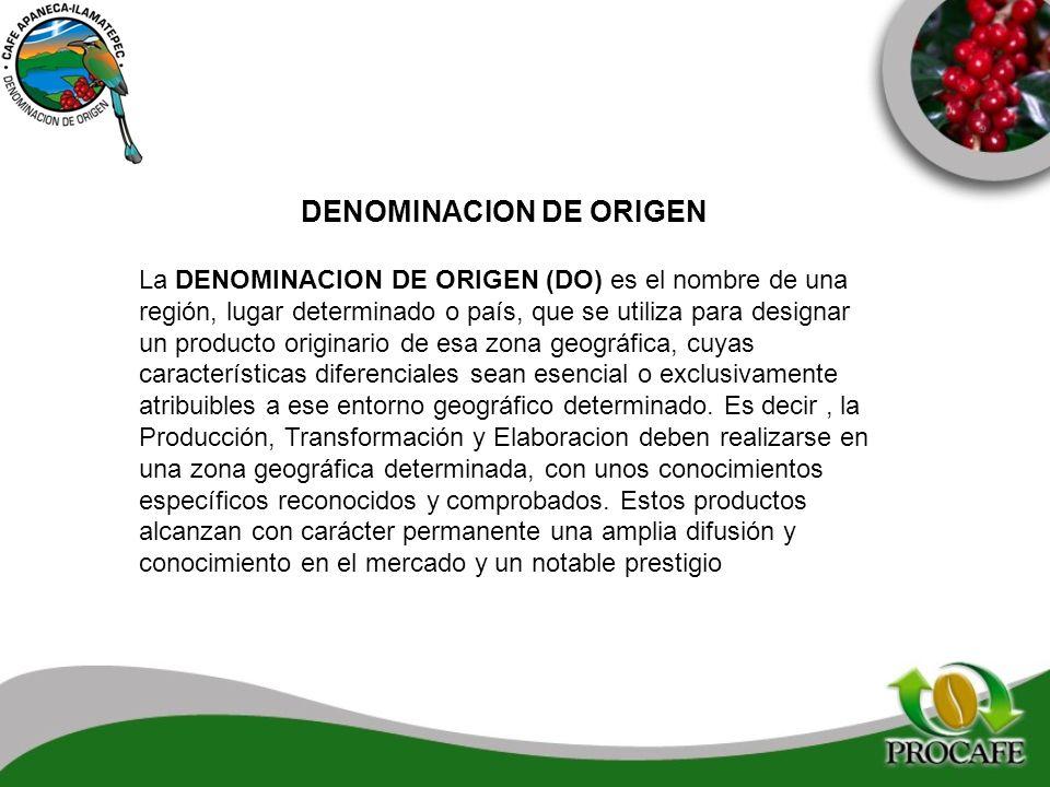 DENOMINACION DE ORIGEN