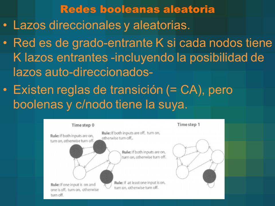Redes booleanas aleatoria