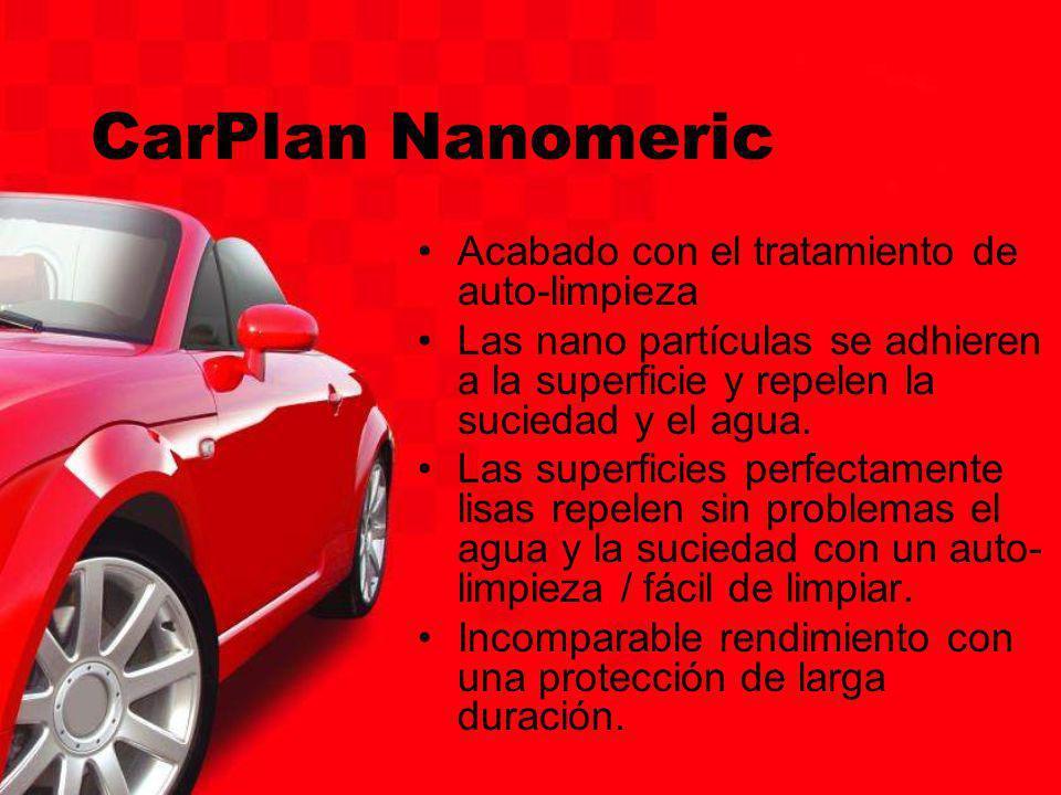 CarPlan Nanomeric Acabado con el tratamiento de auto-limpieza