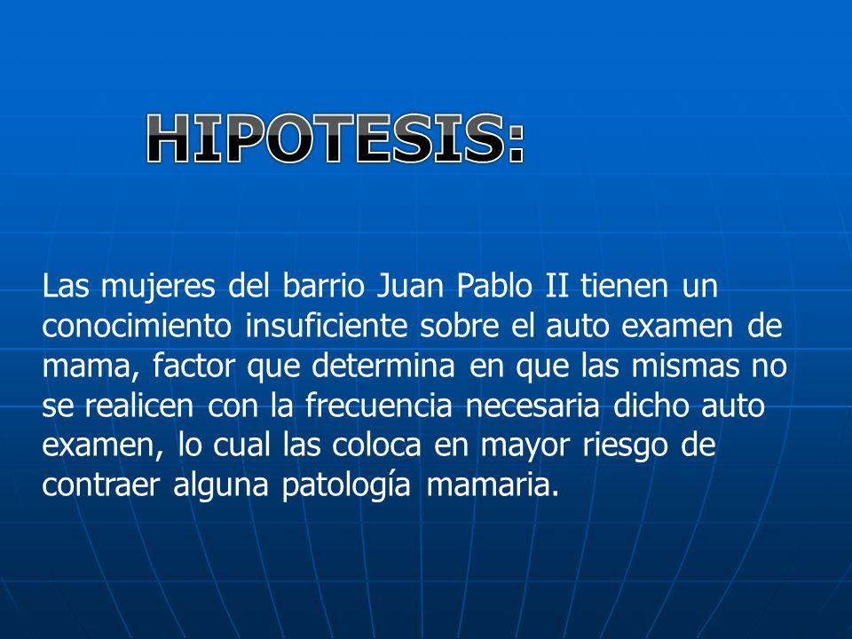 HIPOTESIS: