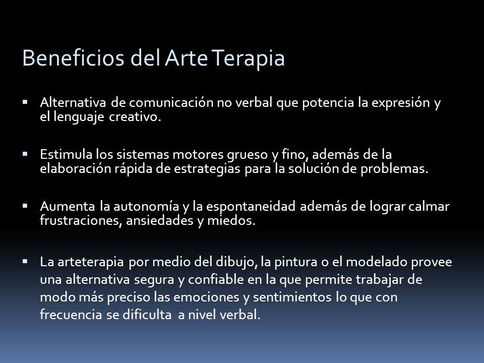 Beneficios del Arte Terapia