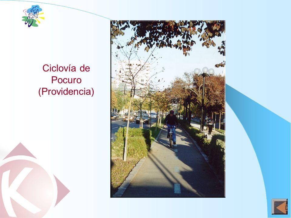 Ciclovía de Pocuro (Providencia)