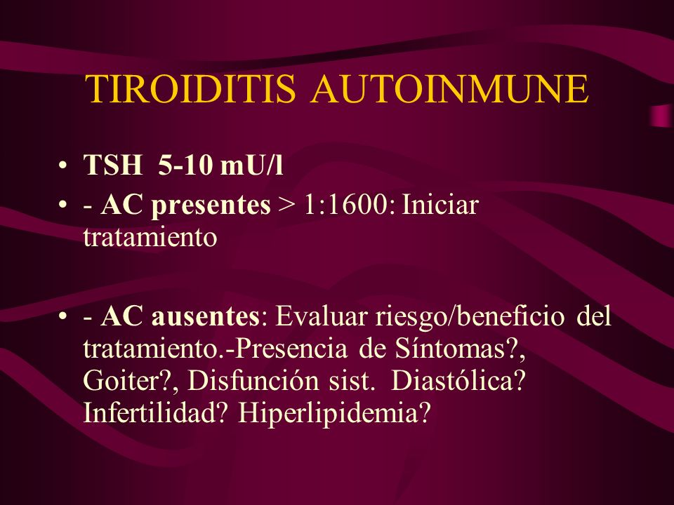 TIROIDITIS AUTOINMUNE