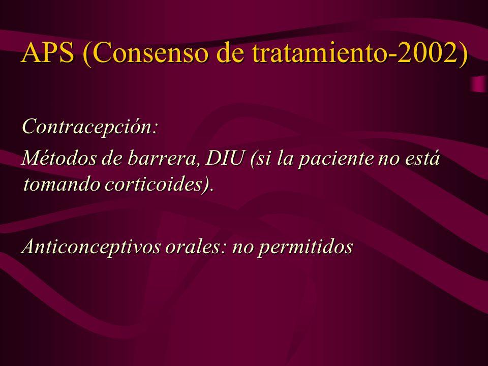 APS (Consenso de tratamiento-2002)