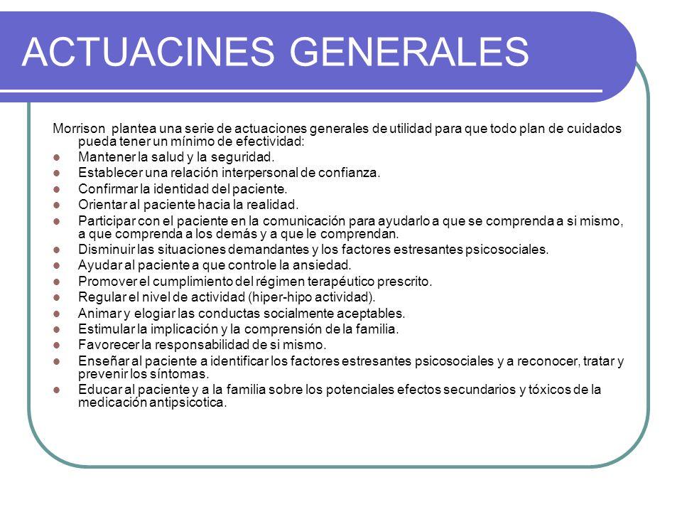 ACTUACINES GENERALES