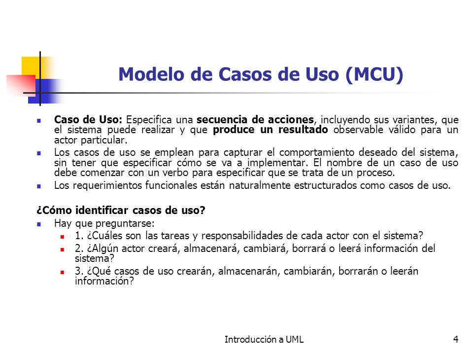 Modelo de Casos de Uso (MCU)