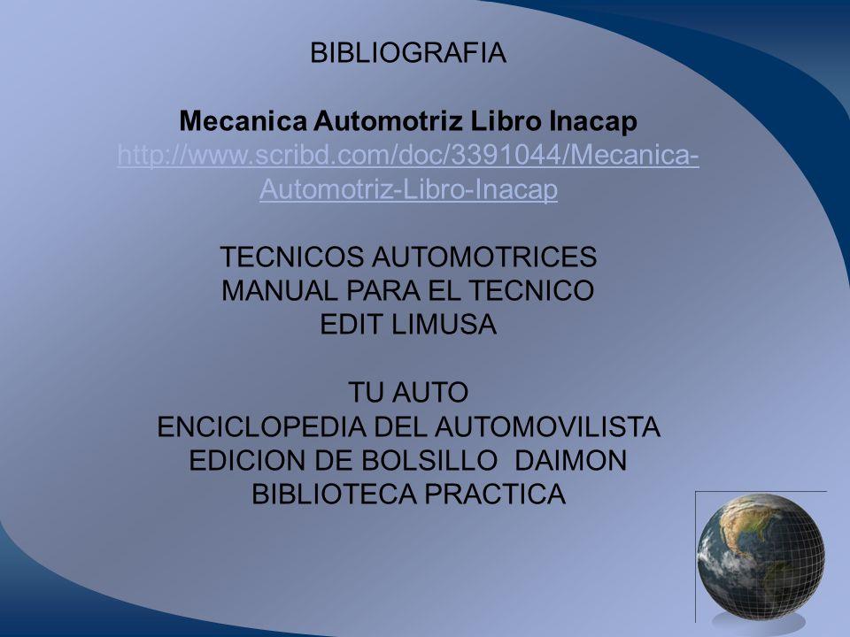 Mecanica Automotriz Libro Inacap