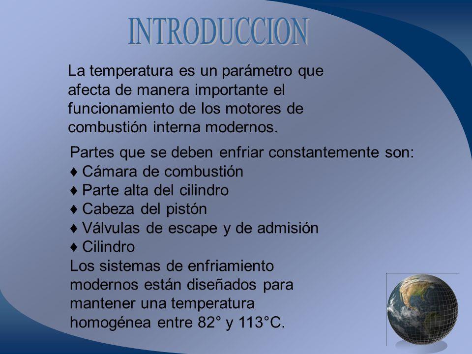 INTRODUCCION La temperatura es un parámetro que