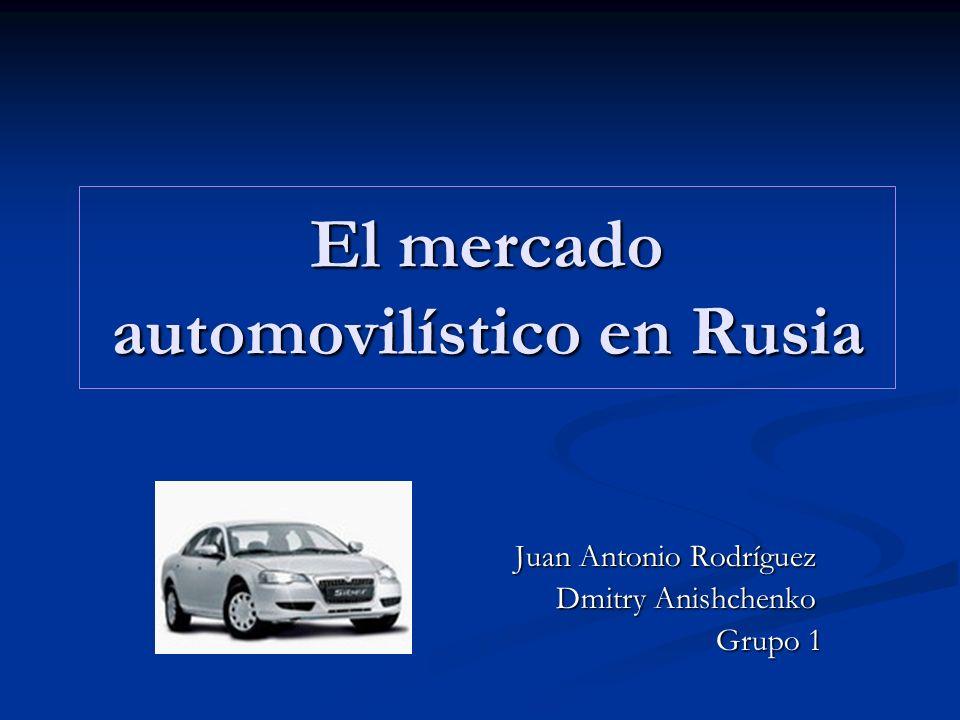 El mercado automovilístico en Rusia
