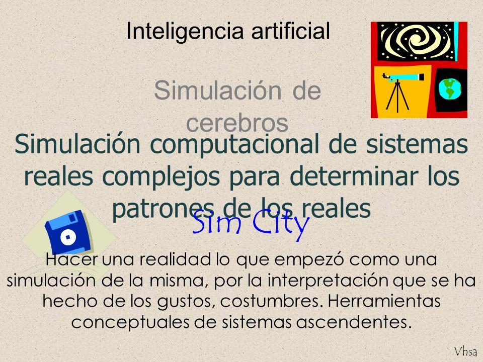 Sim City Simulación de cerebros