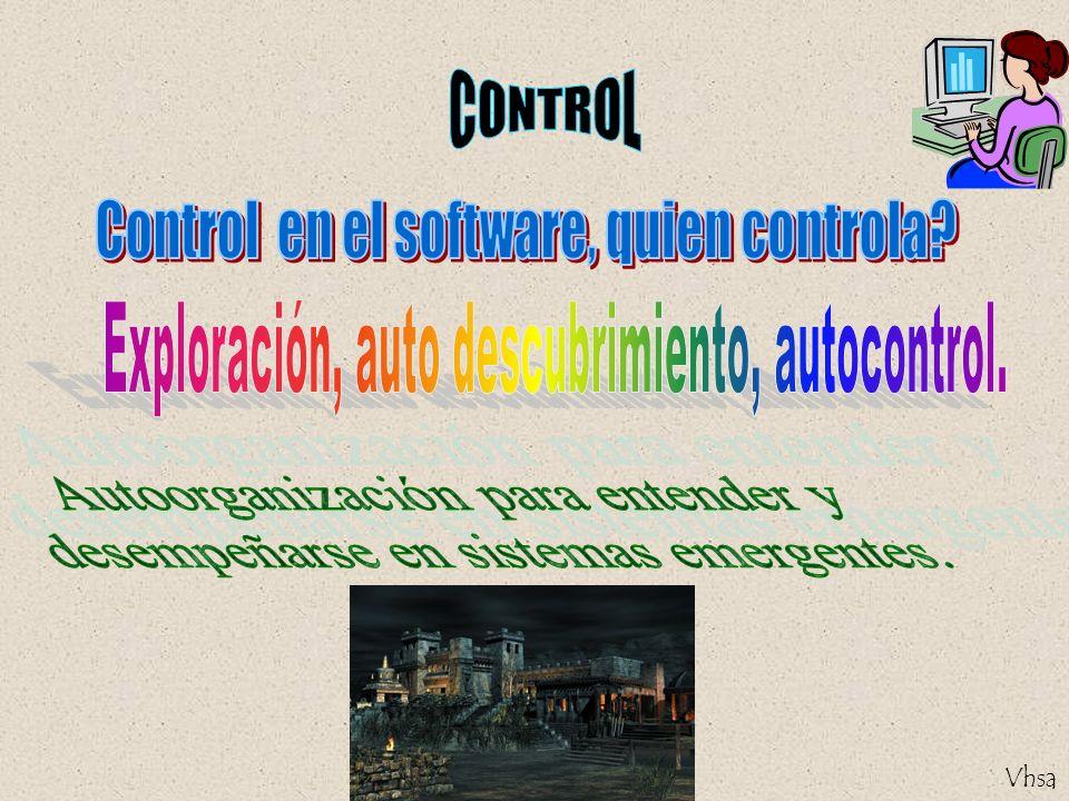 Control en el software, quien controla
