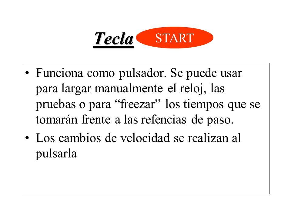 Tecla START START.