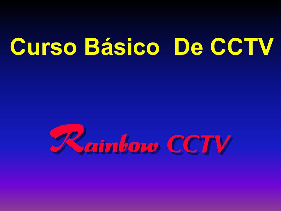 Curso Básico De CCTV 3