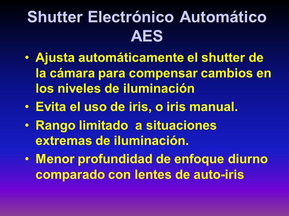 Shutter Electrónico Automático AES