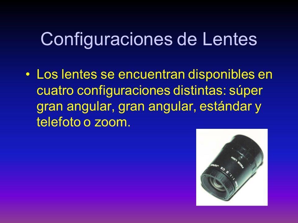 Configuraciones de Lentes