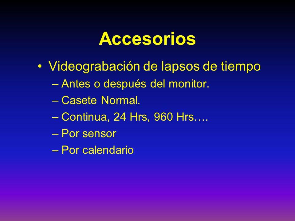 Accesorios Videograbación de lapsos de tiempo