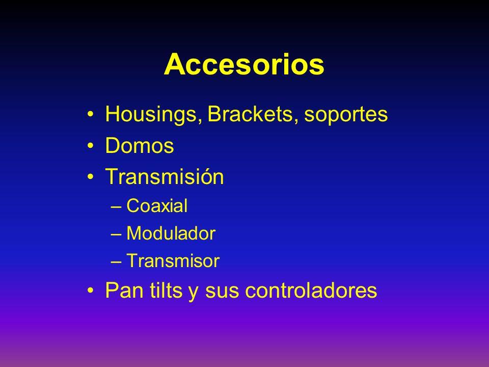 Accesorios Housings, Brackets, soportes Domos Transmisión