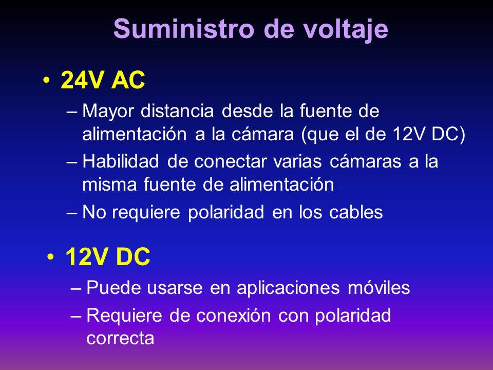 Suministro de voltaje 24V AC 12V DC