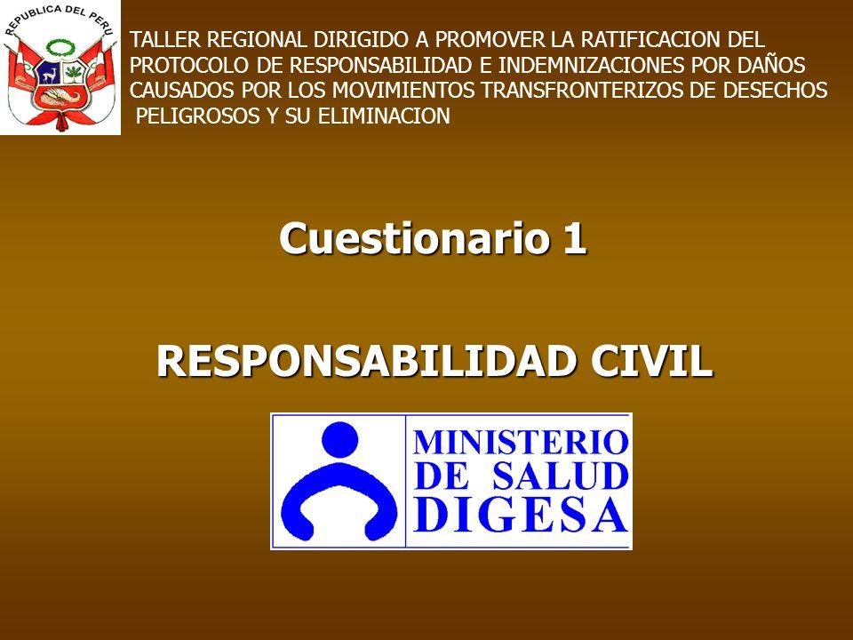 Cuestionario 1 RESPONSABILIDAD CIVIL