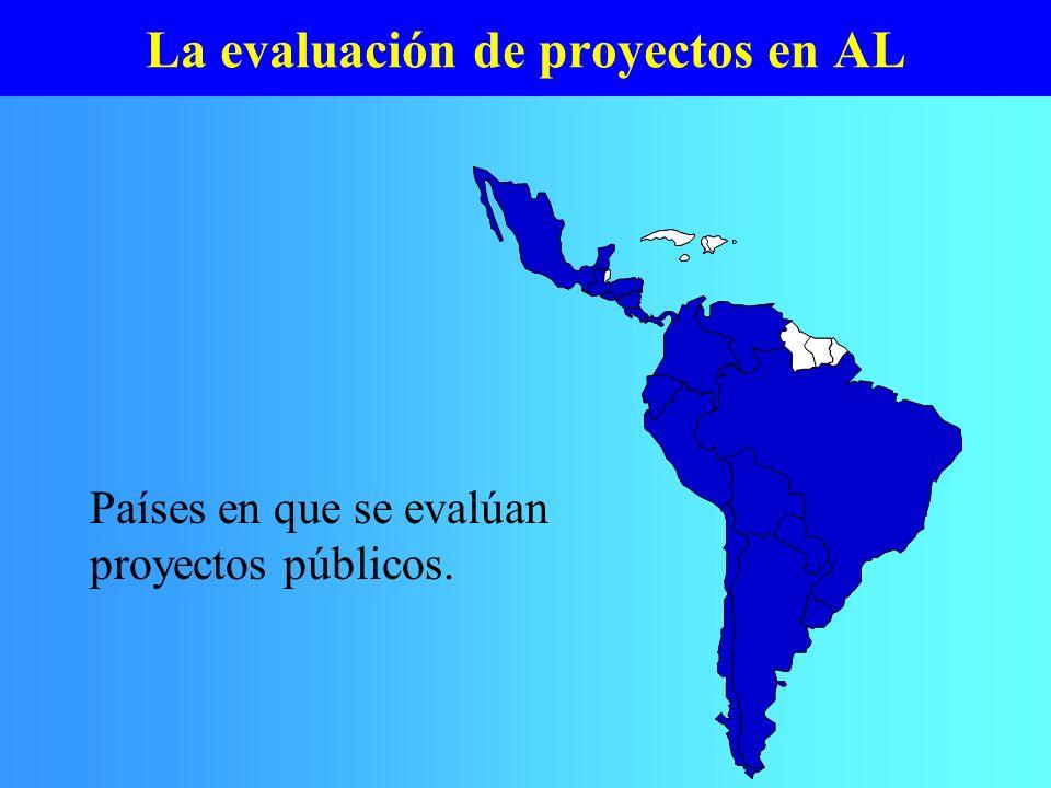 La evaluación de proyectos en AL